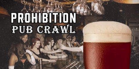 Modesto's Prohibition Pub Crawl tickets