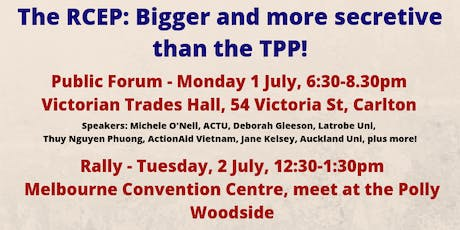 How the RCEP trade deal could undermine human rights and the environment tickets
