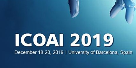 6th International Conference on Artificial Intelligence (ICOAI 2019) tickets