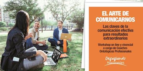EL ARTE DE COMUNICARNOS. boletos
