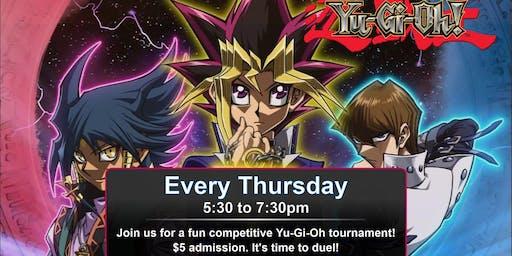 Yu-Gi-Oh Tournament