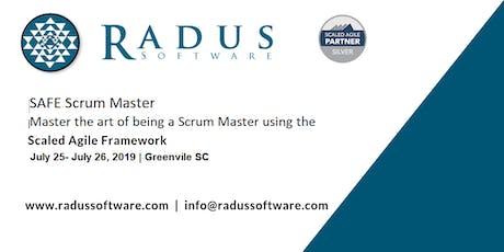 SAFe Scrum Master with SSM Certification - Greenville SC tickets