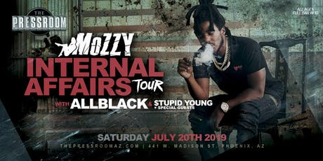 MOZZY: INTERNAL AFFAIRS TOUR @ The Pressroom tickets