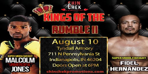 Chin Chek Promotions Presents Kings of the Rumble II