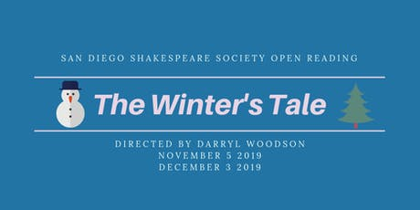 The Winter's Tale (Part One) FREE Open Reading tickets