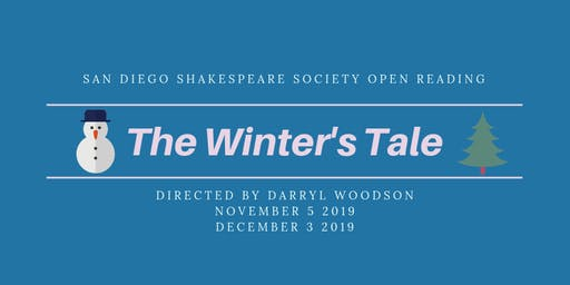 The Winter's Tale (Part Two) FREE Open Reading