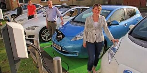 Volunteers To Display EV's at Mountain Veg Fest