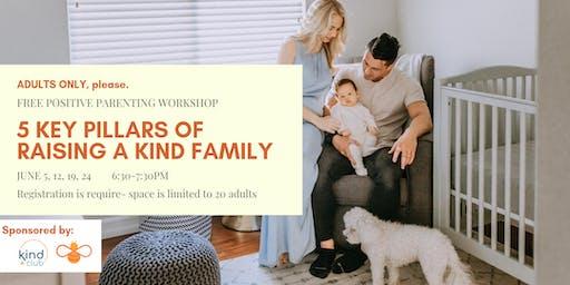 Positive Parenting Workshop: 5 Key Pillars to Raising a Kind Family
