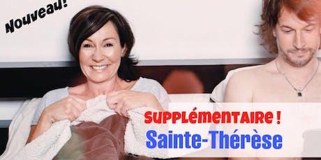 SAINTE-THÉRESE! 26 SEPTEMBRE 2019 LE COUPLE - Josée Boudreault billets