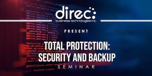 Total Protection: Security & Back Up Seminar Batangas