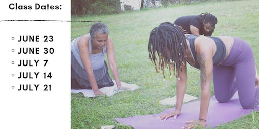 Summer Backyard Family Yoga Series