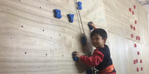 Tuen Mun Indoor Climbing Camp for kids Summer 2019