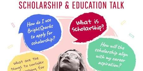 Undergraduate & Postgraduate Scholarship Talk tickets