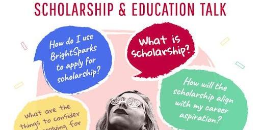 Undergraduate & Postgraduate Scholarship Talk
