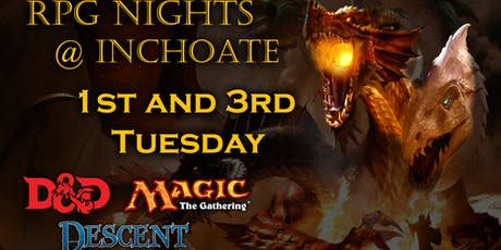 Crawl: D&D/RPG Nights tickets