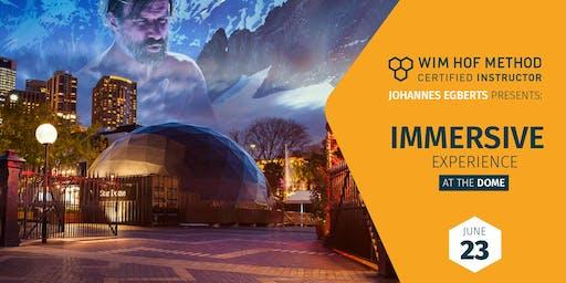 Wim Hof Method Immersive Experience @ASOUNDLIFEDOME