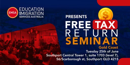 FREE Tax Return Seminar Gold Coast (June 2019)
