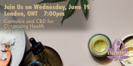 Ellementa London ON: Cannabis and CBD for Optimizing Your Health tickets