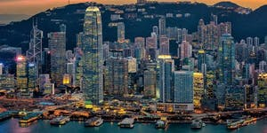 Capital flows in and out of Hong Kong
