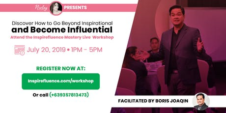 Inspirefluence Mastery Live  Workshop tickets