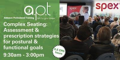 Sunshine Coast APT Seminar: Complex Seating: Assessment and prescription strategies for postural & functional goals
