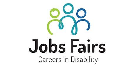 Berwick Jobs Fair: Careers in Disability - Job Seekers' Registration tickets