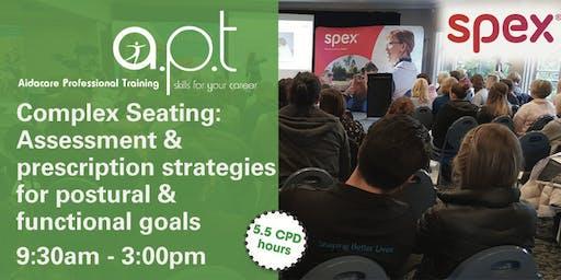 Brisbane APT Seminar: Complex Seating: Assessment and prescription strategies for postural & functional goals