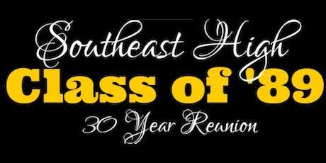 Wichita Southeast Class of '89 tickets
