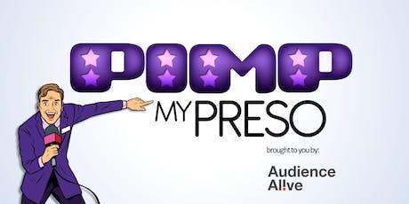 Pimp my presentation tickets