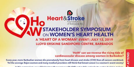 HSFB's Stakeholder Symposium on Women's Heart Health  tickets