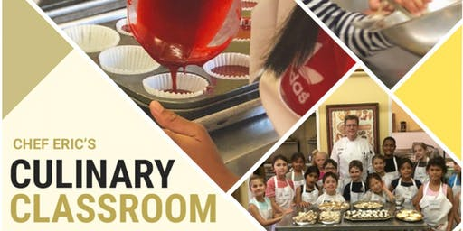 Kid's Summer Cooking and Baking Camps - Culinary Academy 2 - Mon-Thurs/July 15-18, 2019 - $425