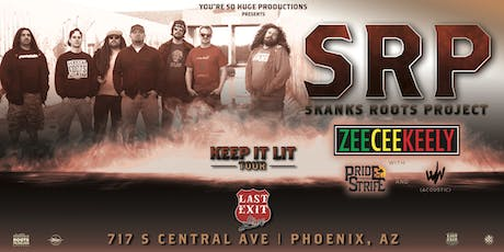 Skanks Roots Project + ZeeCeeKeely + PTS + Why Worry tickets
