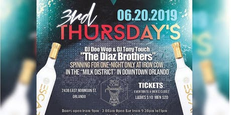 3rd Thursday's tickets