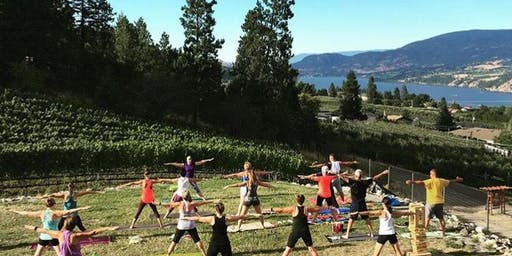 YogaBarre Night at Blind Tiger Vineyards