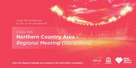 Clubs WA Northern Country Regional Meeting (Geraldton) tickets