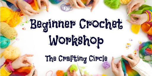 The Crafting Circle Beginner Crochet Workshop - Noosa Civic (Evening)