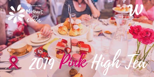 Mother's Day Classic Pink High Tea