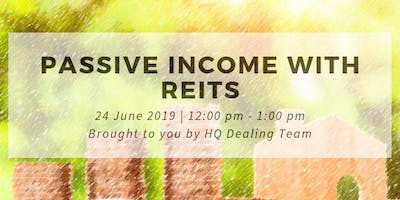 Passive income with REITs