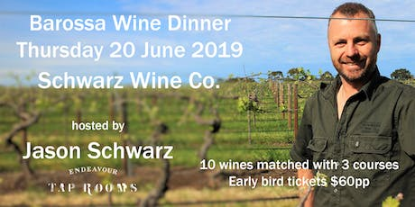 Wine Dinner with Jason Schwarz tickets