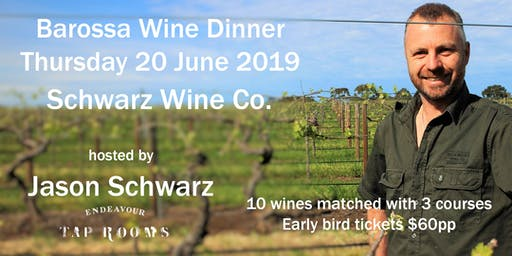 Wine Dinner with Jason Schwarz