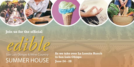 Edible Magazine Summer House - 'The Business of Food' Fireside Chat tickets