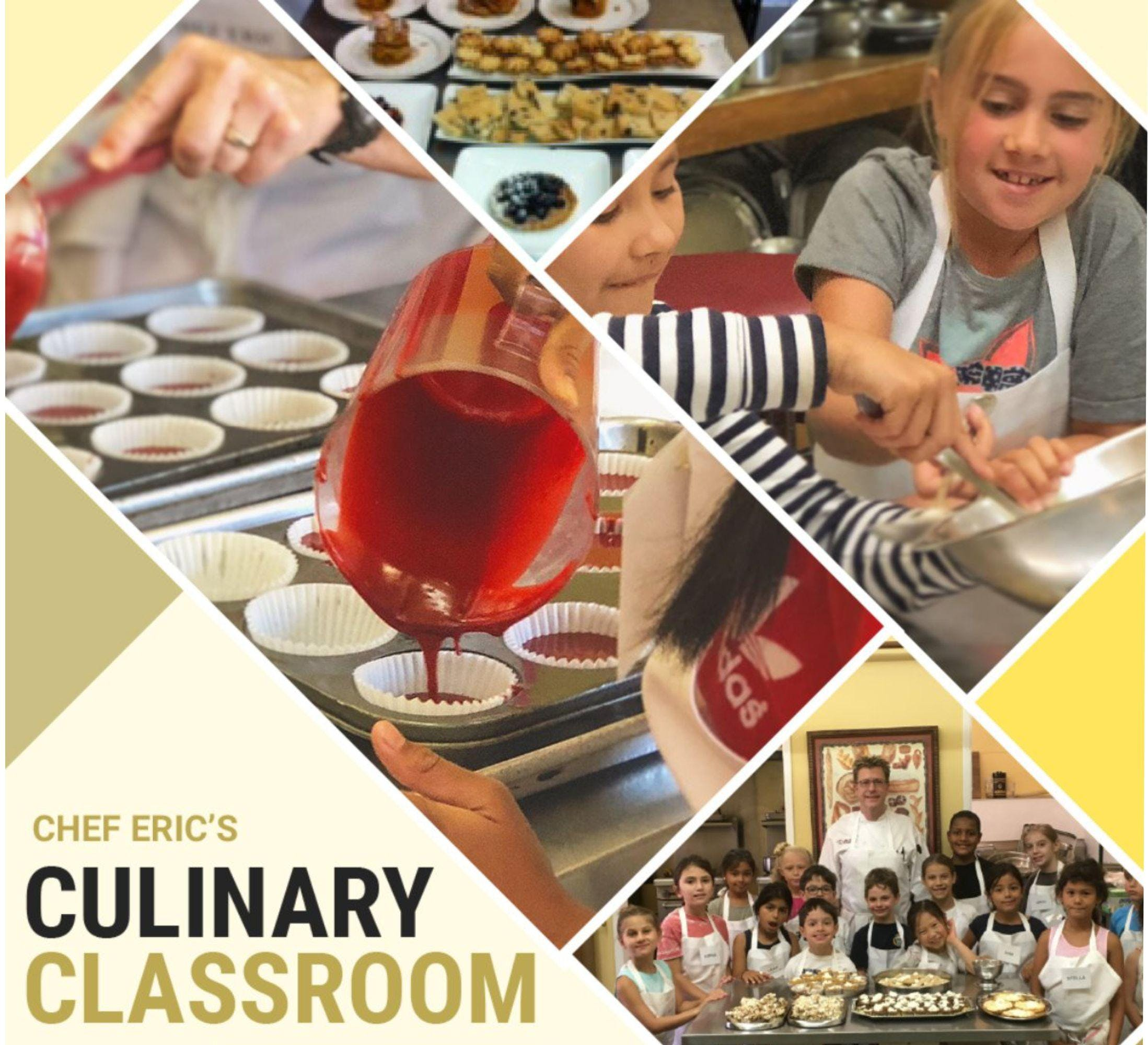 Kid's Summer Cooking and Baking Camps - Culinary Academy 4 - Mon-Thurs/July 22-25, 2019 - $425