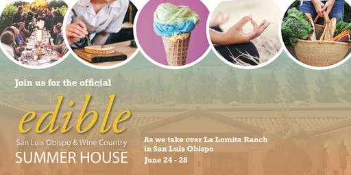 Edible Magazine Summer House - Family Play Date