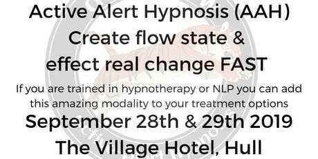 Learn Active Alert Hypnosis (AAH) tickets