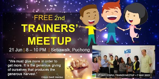 FREE 2nd Trainers' Meetup