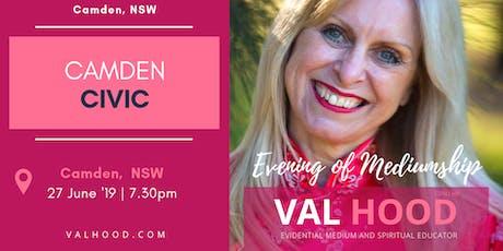 An Evening of Mediumship with Val Hood Medium (Camden, NSW) tickets