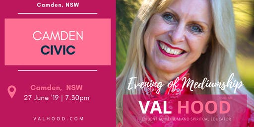 An Evening of Mediumship with Val Hood Medium (Camden, NSW)