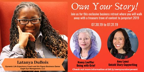 Own your Story! Raleigh 2019 tickets