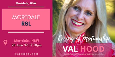 An Evening of Mediumship with Val Hood Medium (Mortdale, NSW) tickets