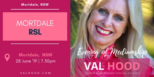 An Evening of Mediumship with Val Hood Medium (Mortdale, NSW)